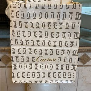 Cartier vintage shopping bag